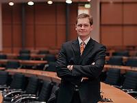 09 JAN 2004, BERLIN/GERMANY:<br /> Michael Mueller, SPD Fraktionsvorsitzender im Berliner Abgeordnetenhaus, Plenarsaal, Preussischer Landtag<br /> IMAGE: 20040109-01-03-14<br /> KEYWORDS: Michael Müller