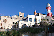 Israel, Old Jaffa Port, is now used as a fishing harbour and tourist attraction The lighthouse on the right .
