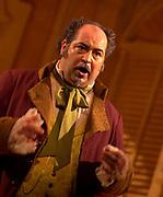 Donato Di Stefano as Don Pasquale in Gaetano Donizetti comic opera Don Pasquale. Presented as the last opera of the season by the Florida Grand Opera. (El Nuevo Herald Photo/Gasto De Cardenas)