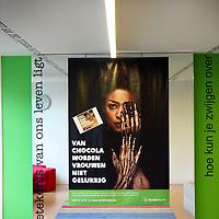 Nederland, Den Haag , 24 september 2013.<br /> Sfeer en omgeveing op kantoor bij Nita Wink (pWC) en Farah Karimi (Directrice Oxfam Novib)<br /> Foto:Jean-Pierre Jans