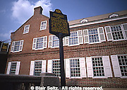 York, PA Historic Site, Golden Swan Tavern, 1700s Federal Period