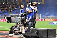 Cameramen, Tv Camera <br /> Roma 18-04-2018 Stadio Olimpico Football Calcio Serie A 2017/2018 AS Roma - Genoa Foto Andrea Staccioli / Insidefoto