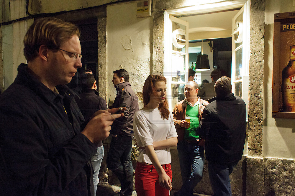 Bairro Alto is by nature the bohemian district in Lisbon, with lots of bars and restaurants that gather people on the narrow streets.