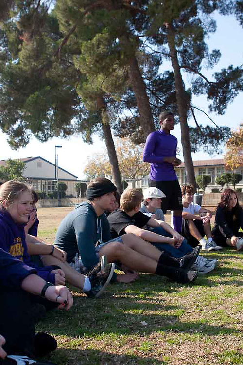 The 2010 version of the annual Fresno High Senate Stogie Bowl played every Thanksgiving morning between the Active Senators and the Honoraries.