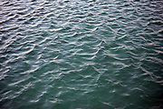 Close up of the water at Shoalstone Pool in Brixham on 27 July 2017, Devon, United Kingdom. Shoalstone Pool is a sea-water swimming pool or lido on Shoalstone Beach, Brixham, Devon. The pool is the English Rivieras only open air 50m sea-water swimming pool