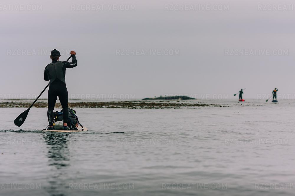 Standup paddle boarding in Big Sur, Calif. Photo © Robert Zaleski / rzcreative.com