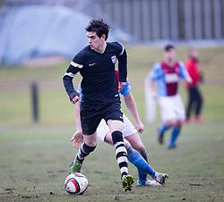 Edusport Academy Arnud Gualino. <br /> Whitehill Welfare 2 v 1 Edusport Academy, South Challenge Cup Quarter Final played 7/3/2015 at Ferguson Park, Carnethie Street, Rosewell.
