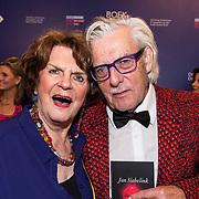 NLD/Amsterdam/20190322  - Boekenbal 2019, Jan Siebelink en partner