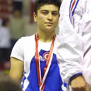 2. WOMEN'S WORLD BOXING CHAMPIONSHIPS.<br /> Turkey's Yasemin Ustalar winner silver medal. Dilek Sabanci Sport Hall Antalya/Turkey<br /> Photo by Aykut AKICI/TurkSporFoto