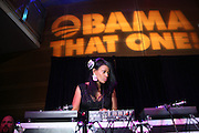 """DJ Beverly Johnson at """" The Obama That One: A Pre-Inagural Gala Celebrating the Victory of President-Elect Obama celebration held at The Newseum in Washington, DC on January 18, 2009  .."""