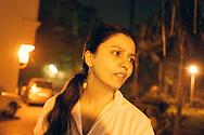 Pia, a sikh princess, Bombay (Mumbai), India