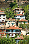 Ottoman style houses of Safranbolu, Turkey.  Safranbolu's architecture influenced urban development throughout much of the Ottoman Empire and was a major centre of the saffron Trade. UNESCO World Heritage Site. .<br /> <br /> If you prefer to buy from our ALAMY PHOTO LIBRARY  Collection visit : https://www.alamy.com/portfolio/paul-williams-funkystock/safranbolu.html<br /> <br /> Visit our TURKEY PHOTO COLLECTIONS for more photos to download or buy as wall art prints https://funkystock.photoshelter.com/gallery-collection/3f-Pictures-of-Turkey-Turkey-Photos-Images-Fotos/C0000U.hJWkZxAbg