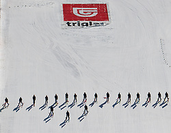 20.03.2011, Planica, Kranjska Gora, SLO, FIS World Cup Finale, Ski Nordisch, Skiflug Einzelbewerb, im Bild Feature vom Zielbereich in Planica // Feature from the finish area during individual competition of the Ski Jumping World Cup finals in Planica, Slovenia, 20/3/2011. EXPA Pictures © 2011, PhotoCredit: EXPA/ J. Groder