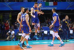 IVAN ZAYTSEV E SIMONE GIANNELLI<br /> <br /> Italy vs Slovenia<br /> Volleyball men's world championship <br /> Florence September 18, 2018