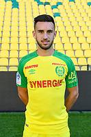 Adrien Thomasson during photoshooting of Fc Nantes for new season 2017/2018 on September 18, 2017 in Nantes, France. (Photo by Philippe Le Brech/Icon Sport)