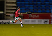 Newcastle Falcons Micky Young warms up before a Gallagher Premiership Round 12 Rugby Union match, Friday, Mar 05, 2021, in Eccles, United Kingdom. (Steve Flynn/Image of Sport)