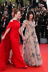 Actress Isabelle Adjani and Julianne Moore attending the screening of Everybody Knows (Todos Lo Saben) opening the 71st annual Cannes Film Festival at Palais des Festivals on May 8, 2018 in Cannes, France. Photo by Shootpix/ABACAPRESS.COM of 'Everybody Knows (Todos Lo Saben)' and the opening gala during the 71st annual Cannes Film Festival at Palais des Festivals on May 8, 2018 in Cannes, France.