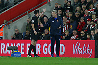 Football - 2016 / 2017 League Cup - Round 4: Southampton vs Sunderland<br /> <br /> Sunderland Manager David Moyes gets sent to the stand by Referee Mr Christopher Kavanagh at St Mary's Stadium Southampton <br /> <br /> COLORSPORT/SHAUN BOGGUST