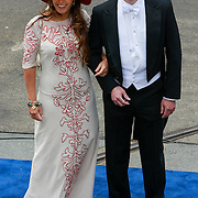 NLD/Amsterdam/20130430 - Inhuldiging Koning Willem - Alexander, prinses juliana Jr. en ?????