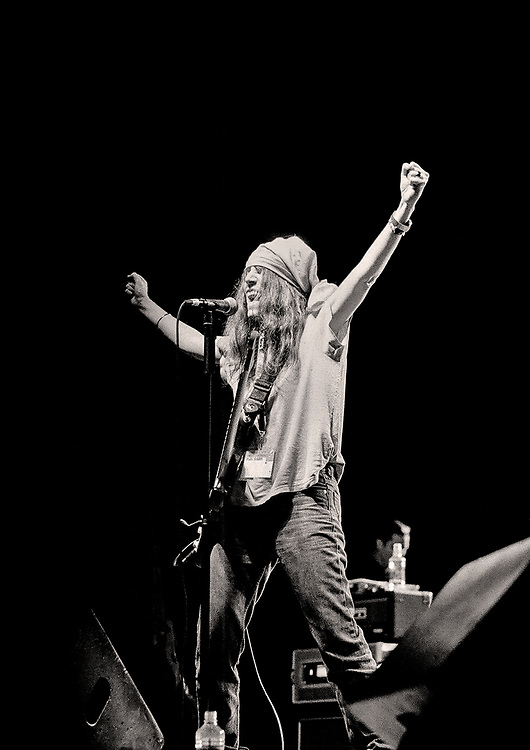 "Patti Smith, Stubb's ""cold beer, live music"" BBQ, Austin, Texas"