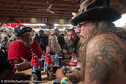 Cycle Source Grease & Gears demo at the Iron Horse Saloon during the annual Sturgis Black Hills Motorcycle Rally.  SD, USA.  August 8, 2016.  Photography ©2016 Michael Lichter.