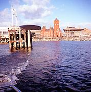Pierhead building former headquarters Bute Dock Company, Cardiff Bay, Wales