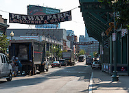 Lansdown Street outside Fenway Park.