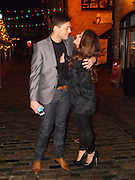 Exclusive<br /> BB Star Steve Goode and Kim Kisselovich pictured at there engagement party in Camden Last night, they where joined by Celebrity Big Brother stars, George Gilby,White dee and her partner Mark Wilson, Plus apprentice star James Hill who was pictured arriving with current miss UK Kirsty Rose<br /> ©Exclusivepix
