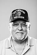 Darryl Merriam<br /> Army<br /> E-5<br /> Artillery<br /> Door Gunner<br /> 03/08/68-10/69<br /> Vietnam War<br /> <br /> (Photo by Stacy L. Pearsall)
