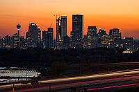Downtown Calgary Illuminated