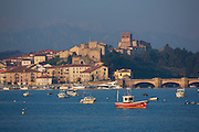 San Vicente de la Barquera, maritime town and holiday resort in Cantabria, Northern Spain