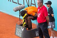 Gael Monfils during  Mutua Madrid Open Tennis 2017 at Caja Magica in Madrid, May 08, 2017. Spain.