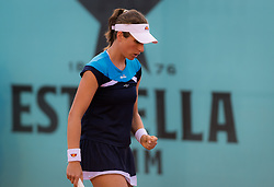 May 5, 2019 - Madrid, MADRID, SPAIN - Johanna Konta of Great Britain in action during her first-round match at the 2019 Mutua Madrid Open WTA Premier Mandatory tennis tournament (Credit Image: © AFP7 via ZUMA Wire)