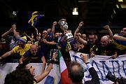 FIAT Torino tifosi <br /> FIAT Torino - Germani Basket Brescia<br /> Postemobile Final 8 2018<br /> Firenze, 17/02/2018<br /> Foto M.Matta/Ciamillo-Castoria