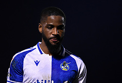 Abu Ogogo of Bristol Rovers after the final whistle of the match  - Mandatory by-line: Ryan Hiscott/JMP - 12/01/2021 - FOOTBALL - Memorial Stadium - Bristol, England - Bristol Rovers v AFC Wimbledon - Papa John's Trophy