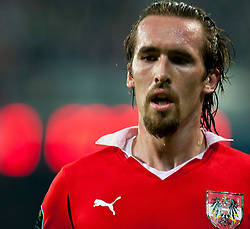 07.09.2010, Red Bull Arena, Salzburg, AUT, UEFA 2012 Qualifier, Austria vs Kazakhstan, im Bild Christian Fuchs (1. FSV Mainz 05, Austria, #5 , EXPA Pictures © 2010, PhotoCredit: EXPA/ J. Feichter / SPORTIDA PHOTO AGENCY