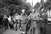 Arnvid Husstand from Kent, Battle of Hastings re-enactment. Battle, East Sussex, 13 October 2018