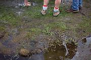 Mud at the 2011 Mud Volleyball Tournament in Laclede, ID sponsored by the Kodiak Bar. .(©Matt Mills McKnight/2011)