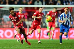 Bobby Reid of Bristol City plays a pass - Mandatory by-line: Dougie Allward/JMP - 05/11/2016 - FOOTBALL - Ashton Gate - Bristol, England - Bristol City v Brighton and Hove Albion - Sky Bet Championship