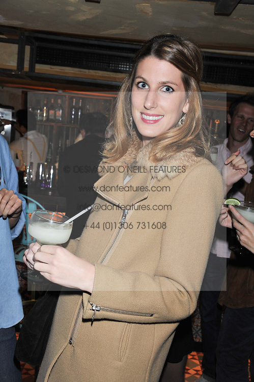 SUSANNA WARREN at the launch party for the new nightclub Tonteria, 7-12 Sloane Square, London on 25th October 2012.
