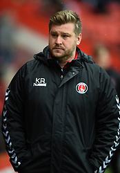 Charlton Athletic manager Karl Robinson