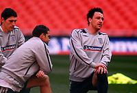 Photo: Alan Crowhurst.<br />England training session at Wembley Stadium. 21/03/2007. John Terry.