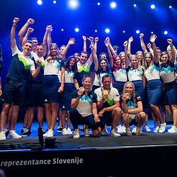 20210810: SLO, Events - Reception of Slovenian Olympic Team in Ljubljana