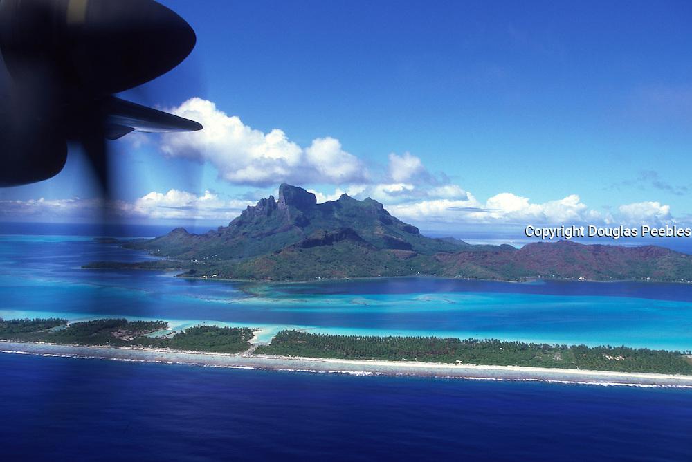 Plane of Bora Bora, French Polynesia<br />