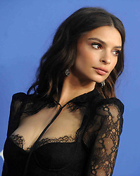 Emily Ratajkowski at the 2018 CFDA Awards at the Brooklyn Museum in New York City, NY, USA on June 4, 2018. Photo by Dennis Van Tine/ABACAPRESS.COM
