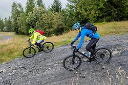 13-09-2017 FRA: BvdGF Tour du Mont Blanc day 4, Trient<br /> Van Chamonix naar Trient. <br /> Carlos, Jeroen