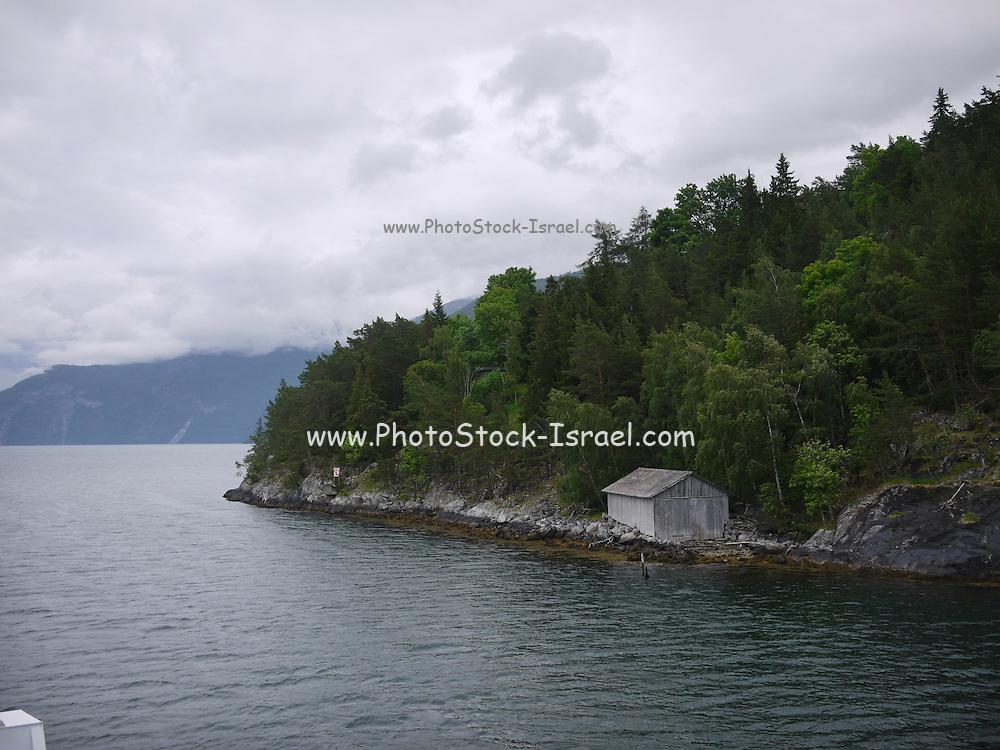 Norway Aurlandsfjord, Flåm