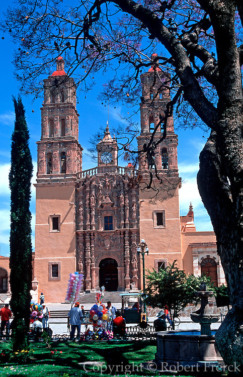 MEXICO, COLONIAL CITIES Dolores Hidalgo; Church on Z�calo from which Father Hidalgo issued his famous call to revolution the 'Grito' in 1810