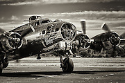 USA, Oregon, Salem, Boeing B17G Flying Fortress of the Commemorative Air Force