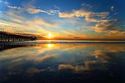 San Clemente Beach Reflections